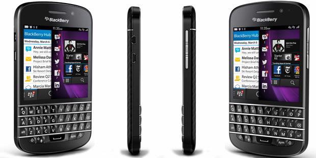 blackberry z10 dengan model layar sentuh penuh perusahaan blackberry