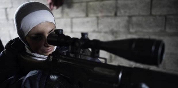 "Kisah Guevara, ""Sniper"" Perempuan dari Aleppo"