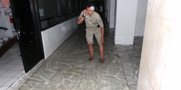 Eeeh, Kantor Jokowi Kebanjiran Lagi