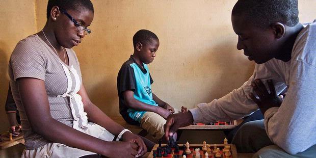 Lewat Catur, Anak-anak Miskin Uganda Ubah Hidup
