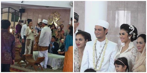 Foto Pernikahan Eno Netral dan Nadila Ernesta 2013