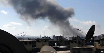 Pemberontak Suriah Rebut Pangkalan Udara Militer
