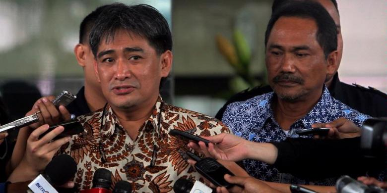 Ditahan Seusai Diperiksa KPK, Choel Mallarangeng Bersyukur