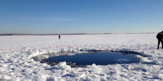 Militer Rusia Temukan Tiga Lokasi Jatuhnya Meteorit