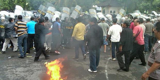 Antisipasi Rusuh, Polres Badung Gelar Simulasi Pilgub Bali
