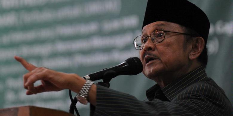 Habibie Ingin Sekolah di Indonesia Tanpa Kertas- Les privat Lge