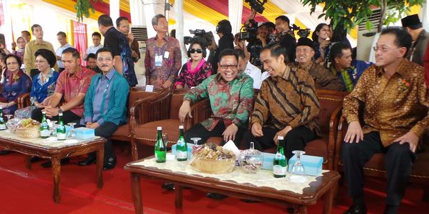 Balon Gas Meledak, Jokowi dan Lima Menteri Selamat