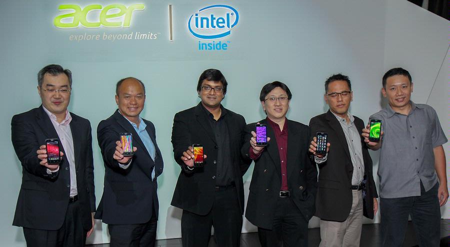 "Acer Liquid C1, Ponsel ""Berotak"" Intel Pertama di Indonesia"