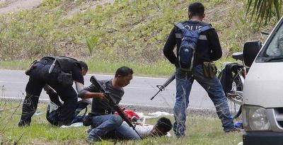 Sejumlah Polisi Malaysia Dimutilasi di Sabah