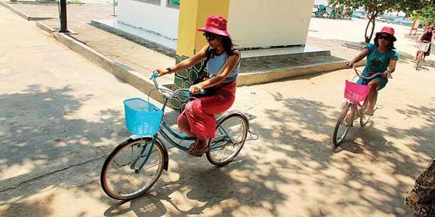Fasilitas Sepeda di Pulau Pari