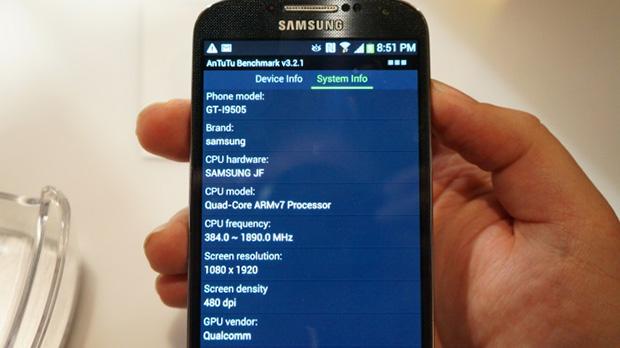 Benchmark Galaxy S4-2