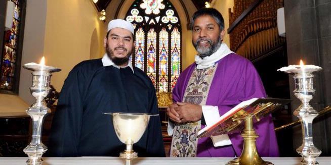 Umat Muslim Aberdeen Beribadah di Gereja Lokal