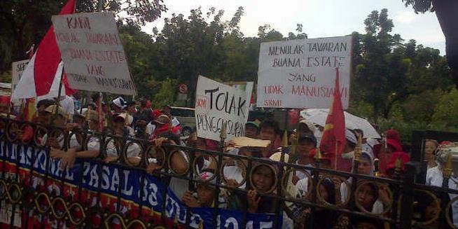 Warga Jatinegara Minta Perlindungan Jokowi