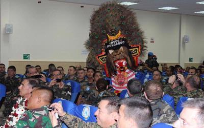 TNI Tampilkan Ragam Kesenian Indonesia di Lebanon