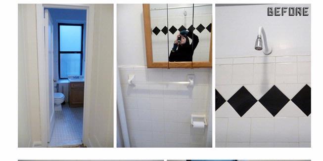 risih dengan kamar mandi di rumah kontrakan properties elit