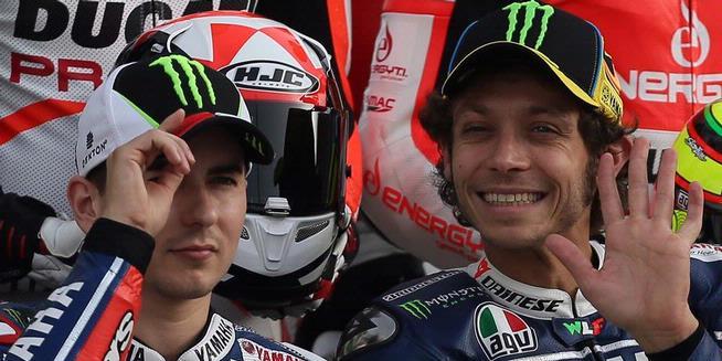 Tim Yamaha rider 2013 : Jorge Lorenzo & valentino Rossi