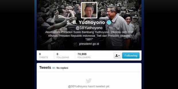"Belum ""Nge-Tweet"", ""Followers"" Presiden Sudah Puluhan Ribu"
