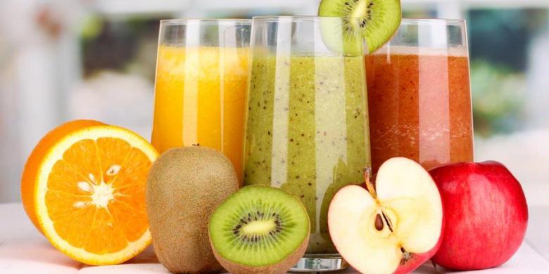 Minuman Jus Buah-buahan Shutterstock Jus Buah-buahan