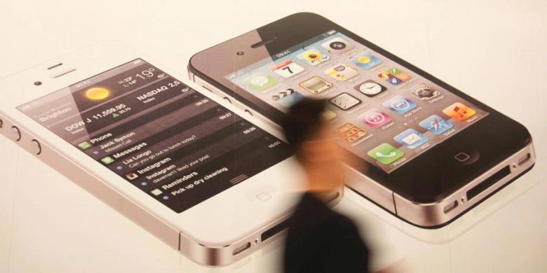 iPhone 5 Pensiun, iPhone 4S Dijual Rp 5 Juta