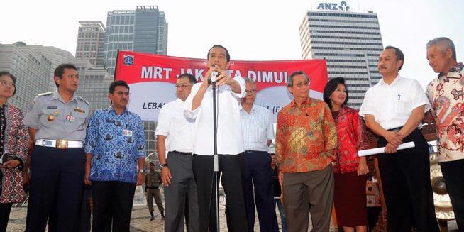 Bangun MRT, Amdalnya Mana Pak Jokowi?