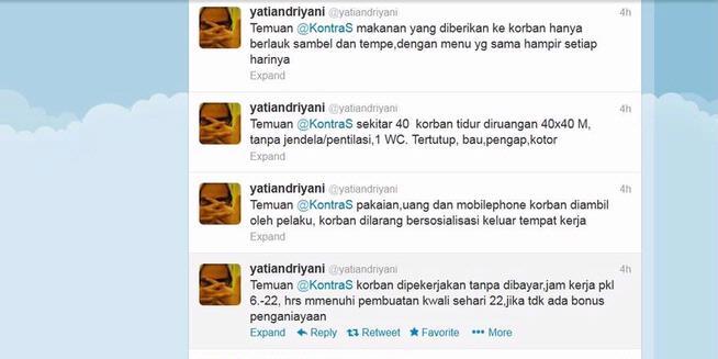 Ini Temuan Kontras Soal Buruh yang Disekap dan Diperlakukan Tak Manusiawi di Tangerang