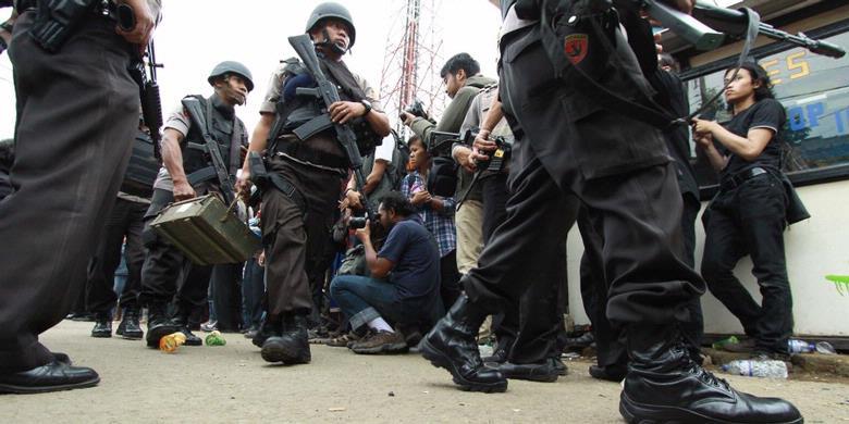 Densus 88 Latih Kepala Terminal Antisipasi Aksi Teror