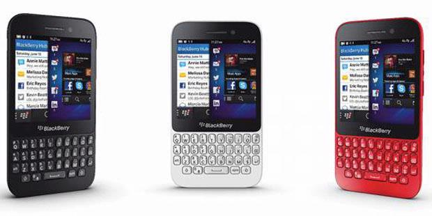 Pilihan warna Blackberry Q5