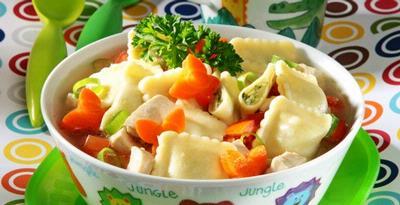 Resep Pasta Ravioli Sup Bening Pasta Ravioli