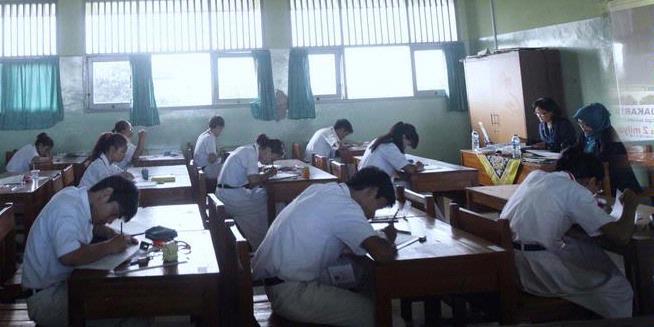 Hasil UN SMP 2013 pict