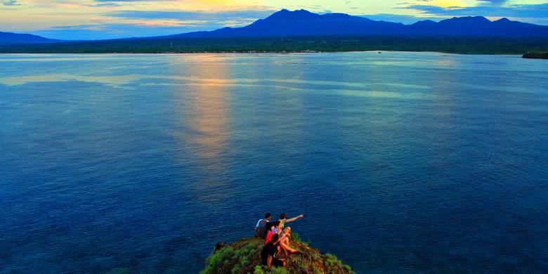 Ke pulau baling-baling dan Lihaga, menikmati dahsyatnya cinta !