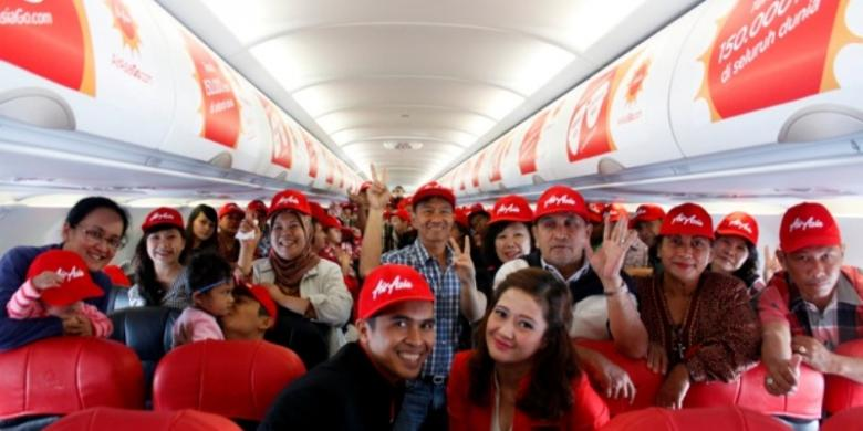 Pesawat Air Asia Indonesia Air Asia Indonesia Para