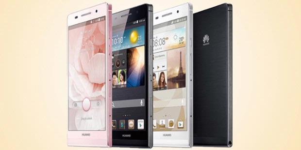 """Huawei """"Dikejutkan"""" Ponsel Pink"""
