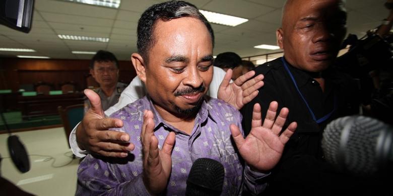 sidang perdananya di Pengadilan Tindak Pidana Korupsi Jakarta