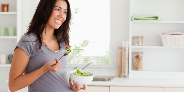 Ibu Hamil Tetap Makan Tiga Kali Selama Puasa