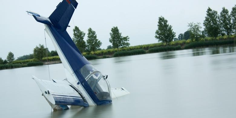 Pesawat Skytruck Disebut Jatuh ke Laut dengan Hidung Terlebih Dahulu