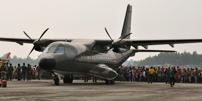 Pesawat cn 235 Indonesia Pesawat Cn-235 Produksi pt