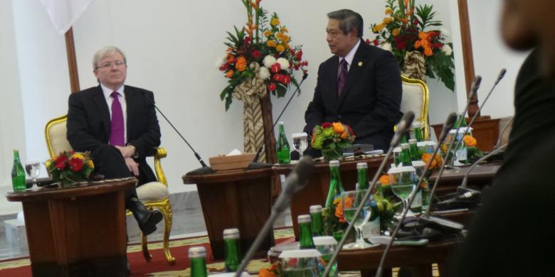 Australia Sadap Telepon SBY dan Sejumlah Menteri Indonesia
