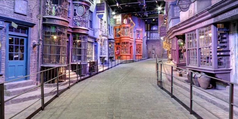 Jelajahi Pasar Sihir Harry Potter di Google Street View