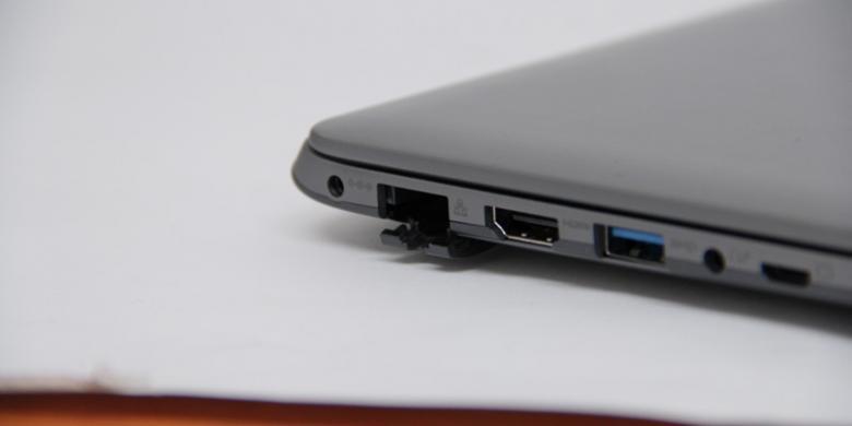 samsung ultrabook Port ethernet