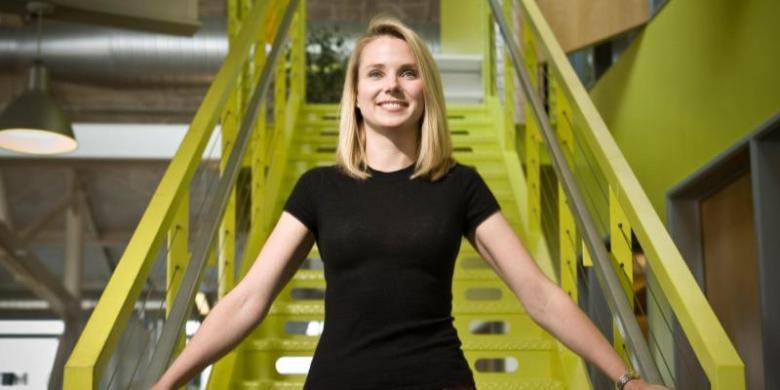 Marissa Mayer Lepas Jabatan di Yahoo