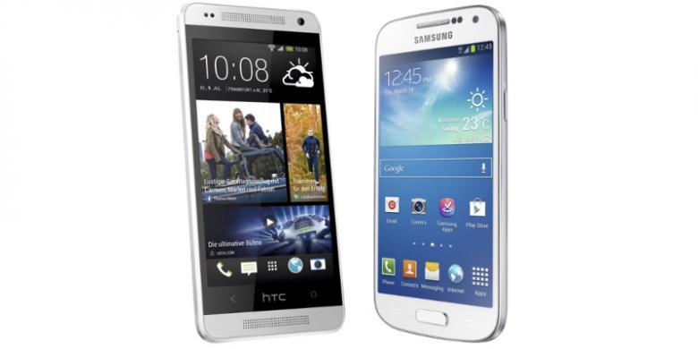 PERBANDINGAN SPESIFIKASI GALAXY S4 MINI VS HTC ONE MINI Persaingan Ponsel Android Samsung vs HTC