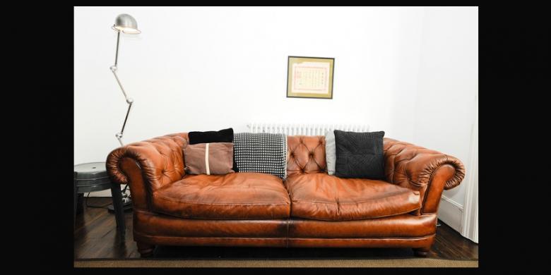 Kompas.com - untuk sofa yang dilapis kulit asli, karena harganya yang