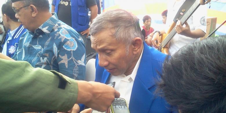 Ketua Majelis Pertimbangan Pusat Partai Amanat Nasional, Amin Rais. | kompas.com/dani prabowo