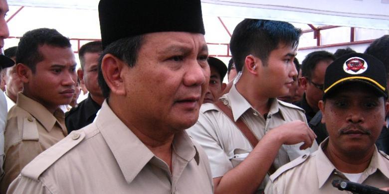 Prabowo Anggap Wajar Penyadapan Oleh Negara Lain