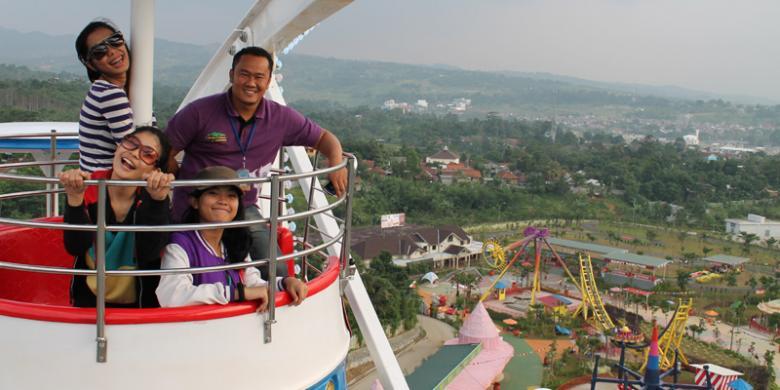 SENTUL, KOMPAS.com - Jungleland Adventure Theme Park yang berlokasi ...