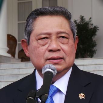 KOMPAS.COM/Sandro Gatra Presiden Susilo Bambang Yudhoyono