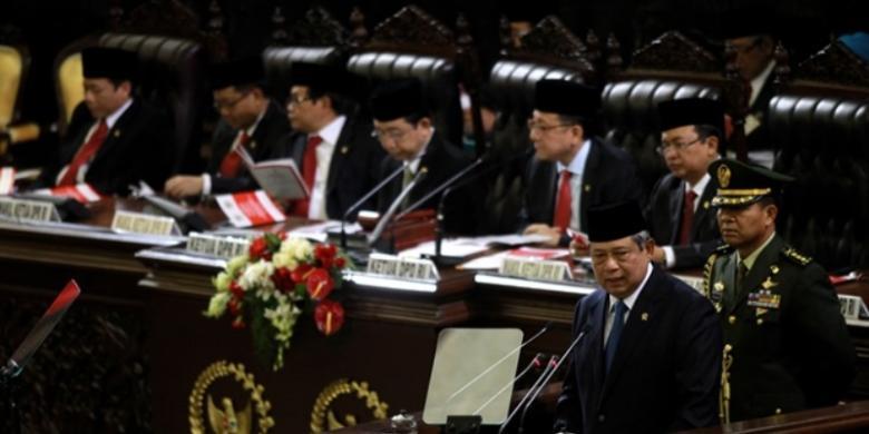 SBY Koruptor : SBY Pidato HUT RI 55 Menit, Korupsi Hanya Disinggung 22 Detik