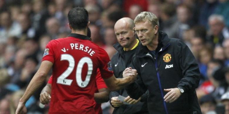 Judi bola - Moyes: Indahnya Gol-gol Van Persie