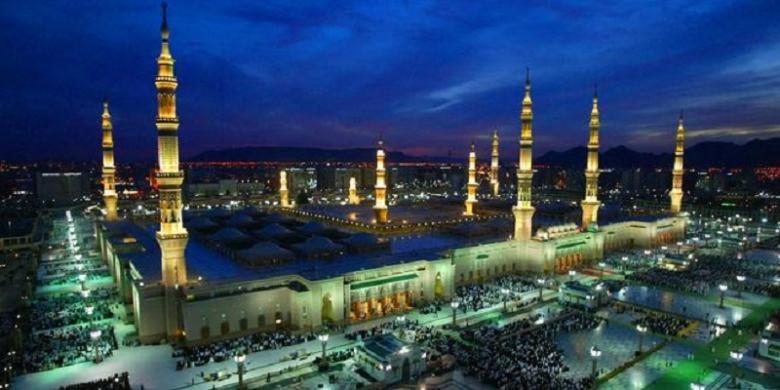 Arab Saudi Dirikan Gerbang Mekkah Kompas Com