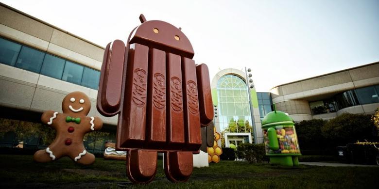 Demi KitKat, Google